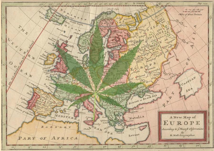Cannabis in Europa